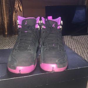 brand new 97999 95dbc Women Purple Jordan 12 on Poshmark